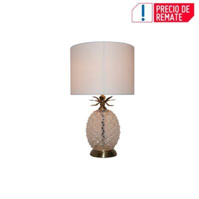 Lámpara Ara Mesa Piña Gold 1 Luz E27