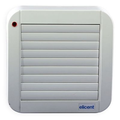 Extractor  de Aire Pared Techo 16 x 16cm  Eco Auto 100