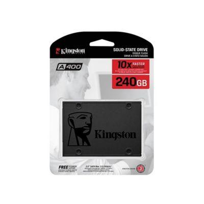 Disco Duro Estado Solido Kingston A400 240GB Gris