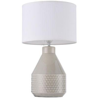 Lámpara Ara 1 Luz E27 Cerámica Crudo