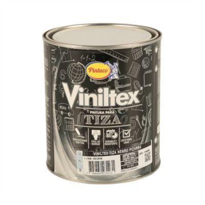Viniltex Tiza Negro Pizarra Cuarto 10387221