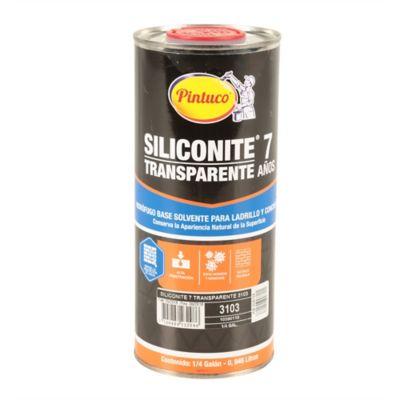 Siliconite 7 Transparente Cuarto