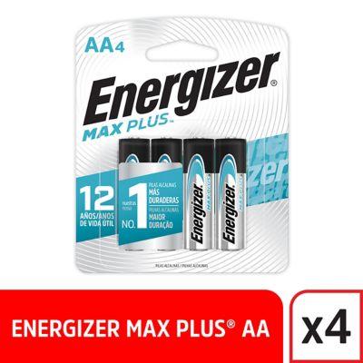 Pilas AA Alcalina Energizer Max Plus x4und