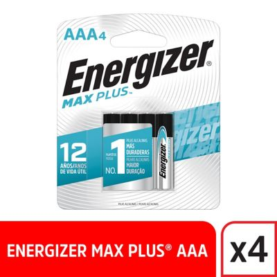 Pilas AAA Alcalina Energizer Max Plus x4und