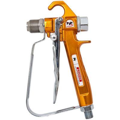 Pistola de Alta para Aplicación de Pintura 7000Psi Color Naranja