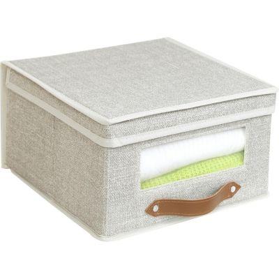 Caja Organizadora Tela 30x16x30 cm Beige