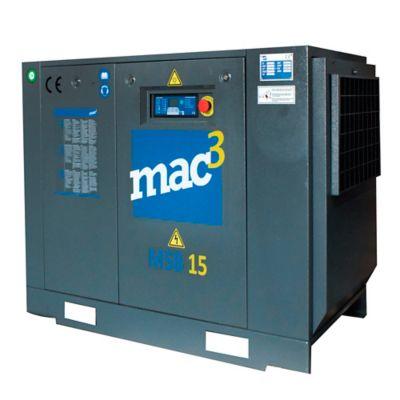 Compresor Eléctrico 20HP MAC-3 MSB 15KW Dual