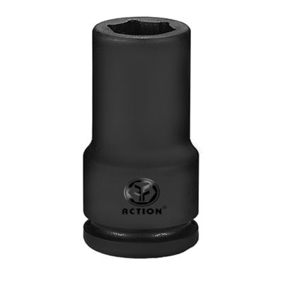 Copa Extra Larga de Impacto Hexagonal con Cuadrante 1/2 Pulgada x 8mm