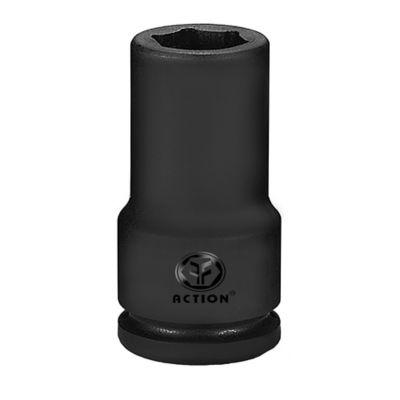 Copa Extra Larga de Impacto Hexagonal con Cuadrante 1/2 Pulgada x 12mm