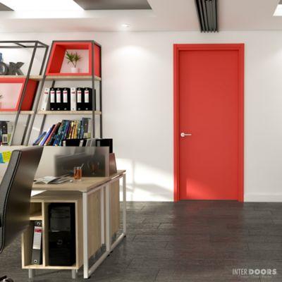 Puerta Naranja Orinoco 60x235 cm