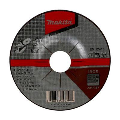 Disco Abrasivo Desbaste de Metal 4-1/2-pulg x 6mm A24R Heavy Duty