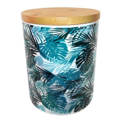 Canister bamboo cerámica 25 oz