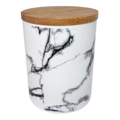 Canister marmolizado cerámica 25 oz