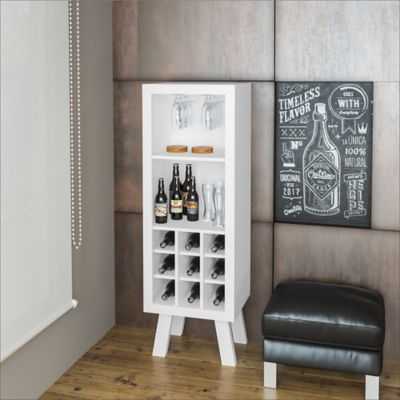 Mueble para Bar Barcelona 44.8x135x37.5Cm Blanco