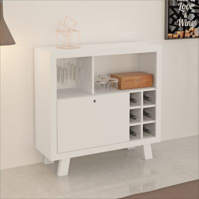 Bar Madrid 90x78.5x31.5 Blanco