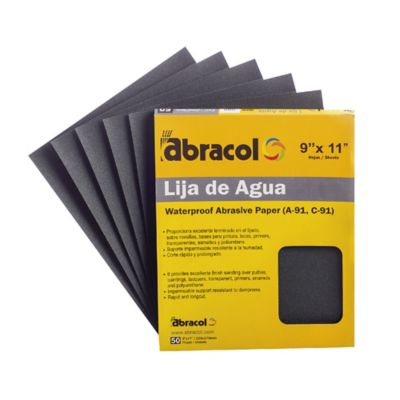 LIJA AGUA # 1500 PLIEGO ABRACOL