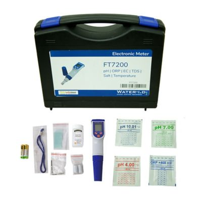 Medidor Digital Ph-Orp-Conduct-Tds-Sal-Temp