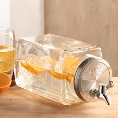 Dispensador 3 Litros Vidrio Nevera Kilner
