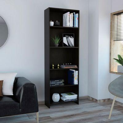 Biblioteca Lisa 25.6x62x180cm Eco Wengue