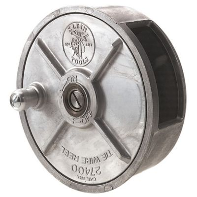 Carrete Para Alambre de Unión de Aluminio Liviano