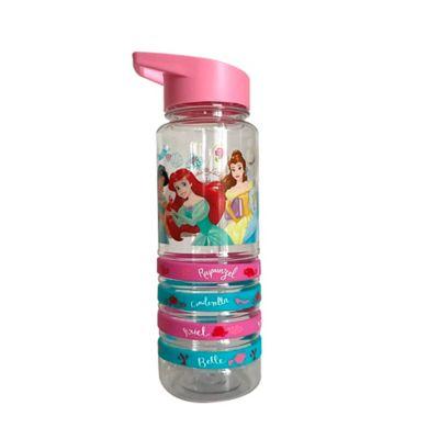 Botella Acrilica 750ml Princesas Heroes