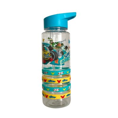 Botella Acrílica 750ml Mickey Racers