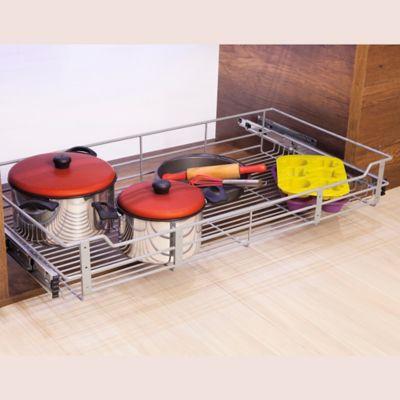 Canasta Classic Mueble Bajo Modulo De 70  Centímetros Metalizado Caja Color