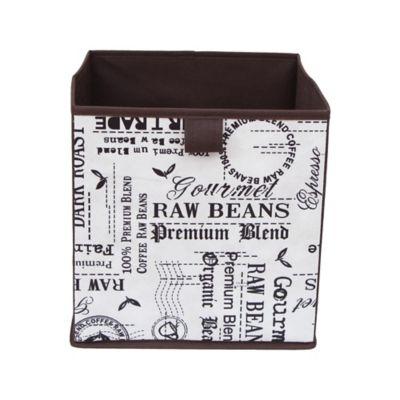 Caja Plegable Tnt Letter 27x27x28 cm