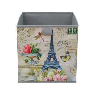 Caja Plegable Tnt Paris 27x27x28 cm