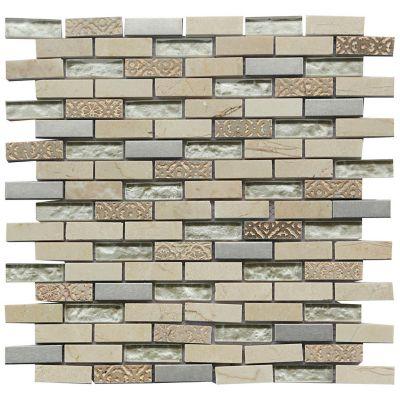 Mosaico De Vidrio Range 30X30cm