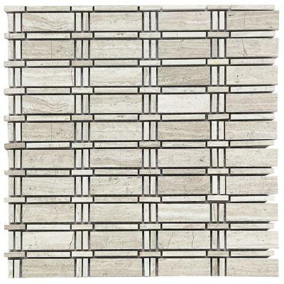 Mosaico Piedra Marmol Fix 30X30cm