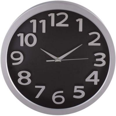 Reloj Tausen 33x33 cm Negro