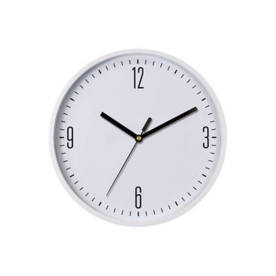 Reloj Basic 22x22 cm Blanco