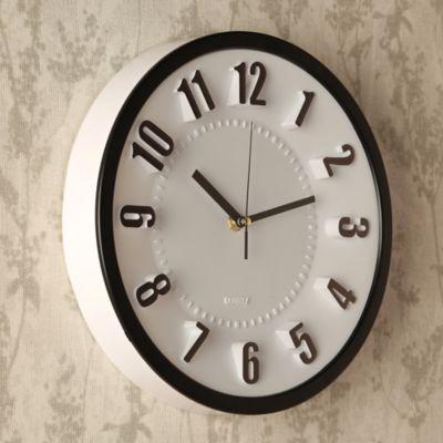 Reloj Número 3D 28x28 cm