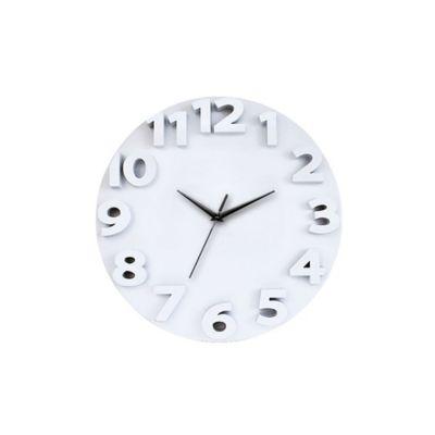 Reloj 3D Go 50x50 cm Blanco