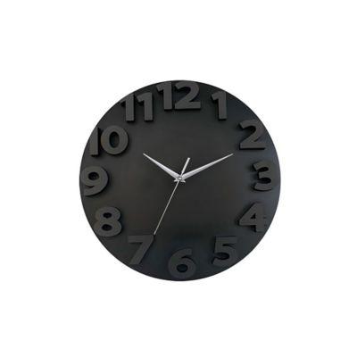 Reloj 3D Go 50x50 cm Negro