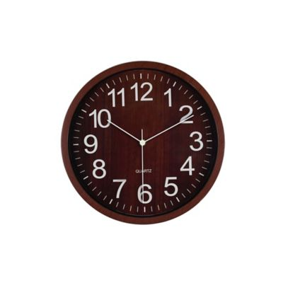 Reloj Wooden 29x29 cm Natural