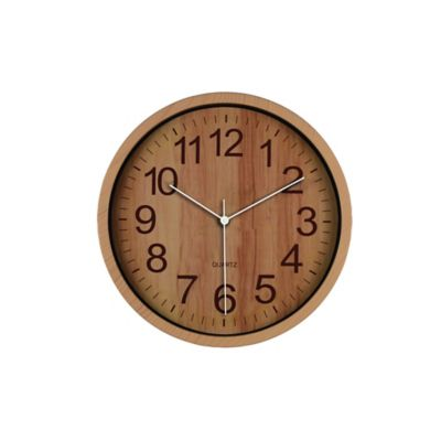 Reloj Wooden 29x29 cm Oscuro