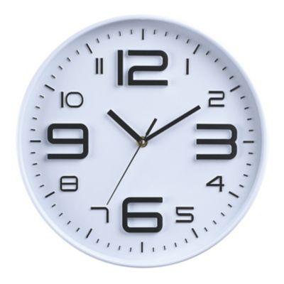 Reloj Big Number 30x30 cm Bco