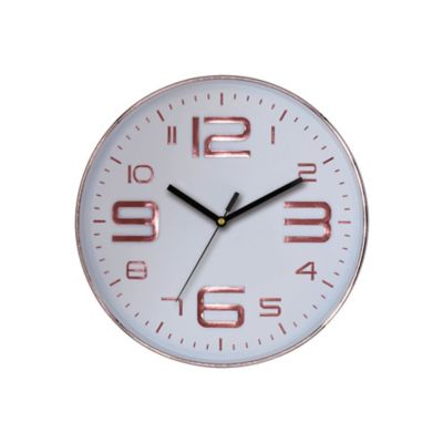 Reloj Big Number 30x30 cm Rose