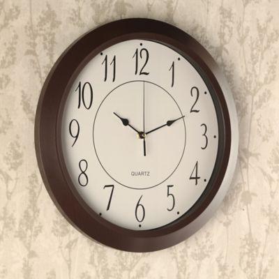 Reloj Borde Negro 40x40 cm