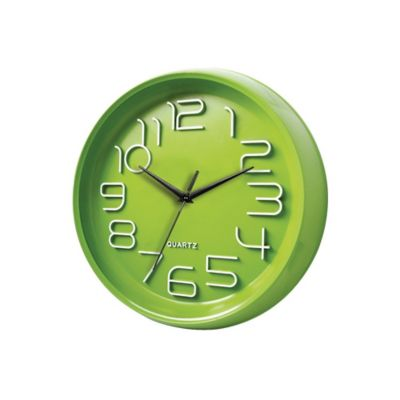 Reloj Verde Look 33x33 cm