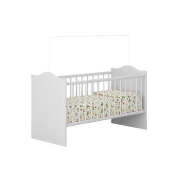 Cuna para Bebé 133.5x68.5x90cm Blanco