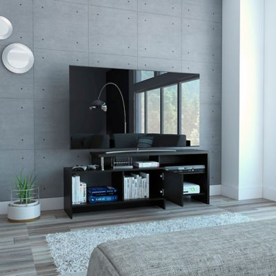 Mesa Para TV Bengala 56x143x38.6cm Wengue MLW 3888