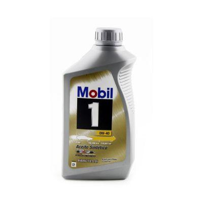 Aceite Mobil1 0W40 1/4 Galón