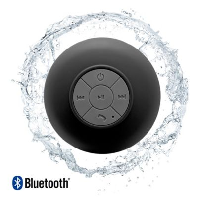 Parlante Bluetooth Resistente Al Agua Negro