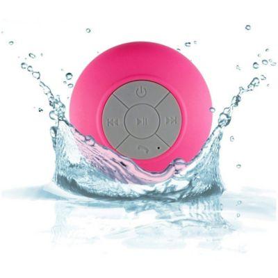 Parlante Bluetooth Resistente Al Agua Fucsia