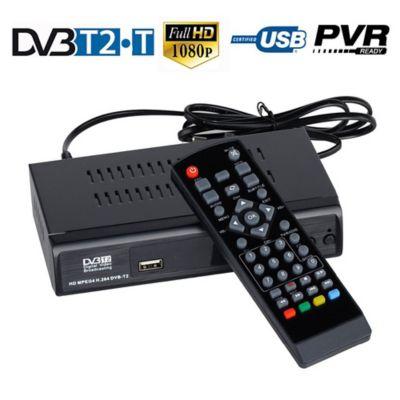 Decodificador TDT HDTV DVB FullHD+Control+Antena
