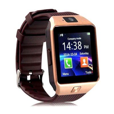 Reloj Inteligente Deportivo Homologado Bluetooth W201 Color Dorado-Café