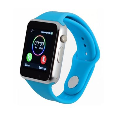 Reloj Inteligente Deportivo Homologado Bluetooth W101Hero Color Azul